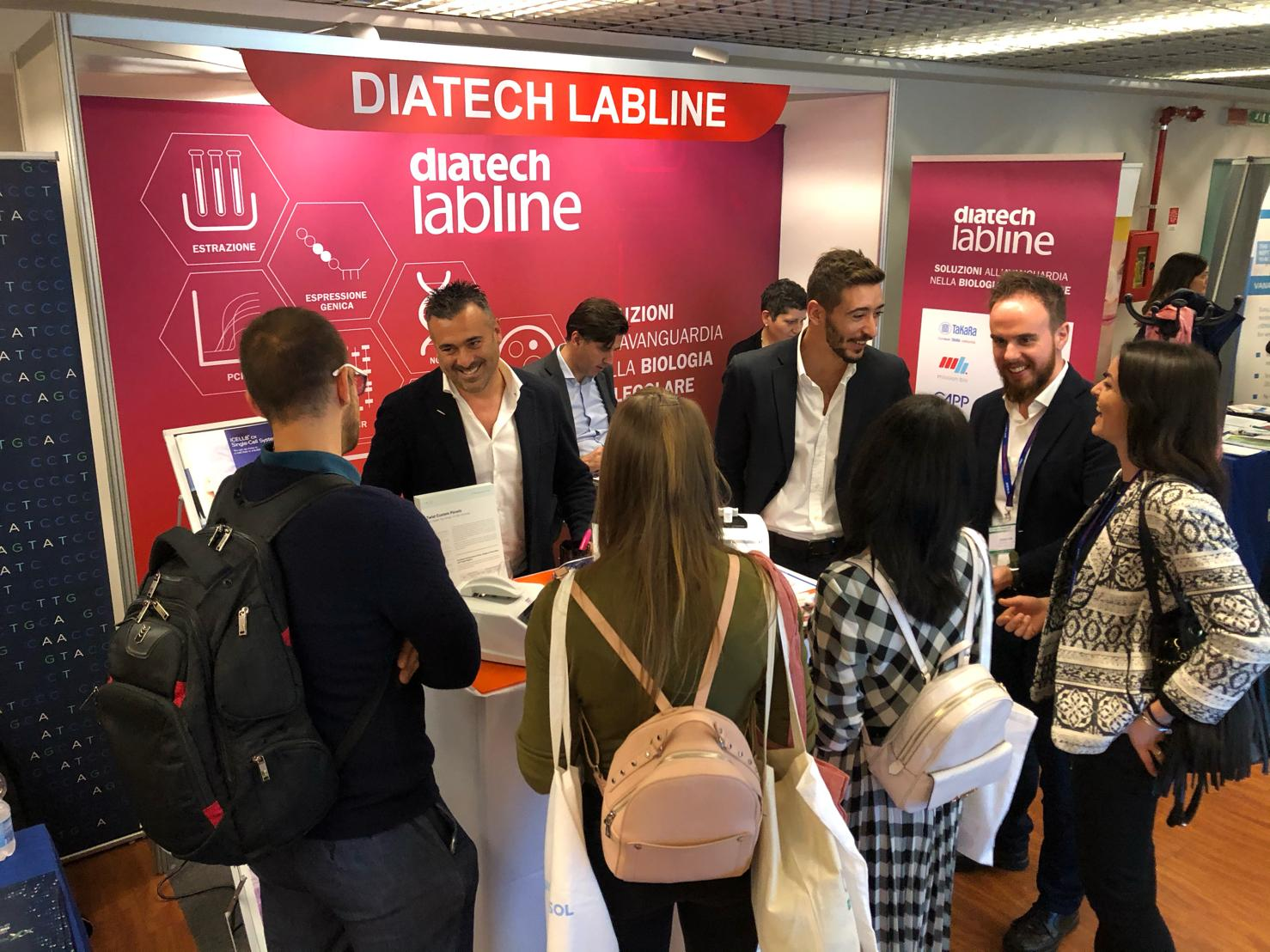 Diatech Labline stand