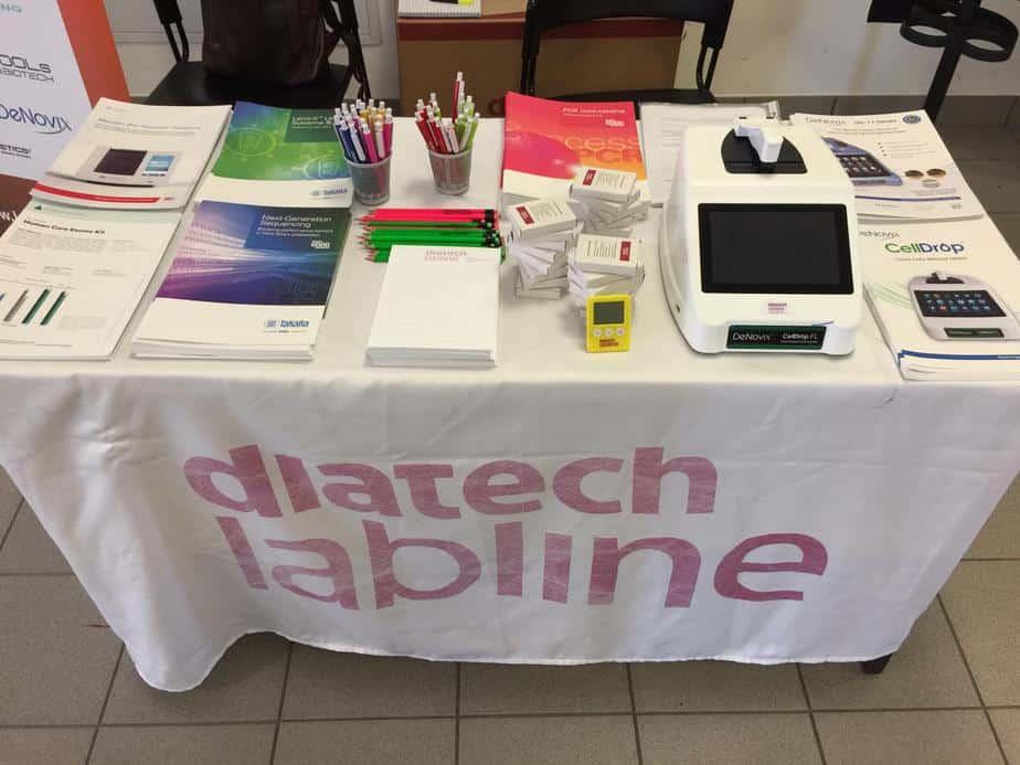 Diatech Lab Line desk